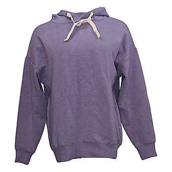 Buffalo Women's Hooded Sweatshirt Long Sleeve Purple