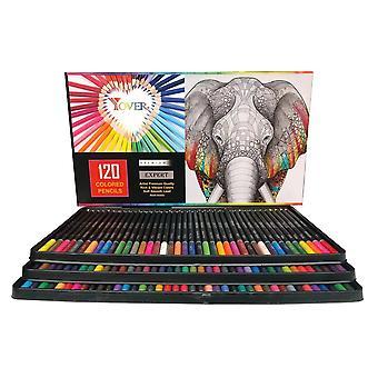120 stk farget blyant profesjonell skisse maleri forsyninger