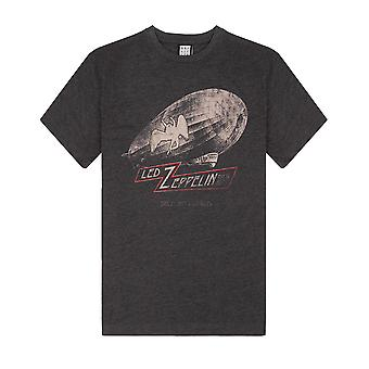 Amplified Led Zeppelin Dazed & Confused Grey T-shirt męski z krótkim rękawem