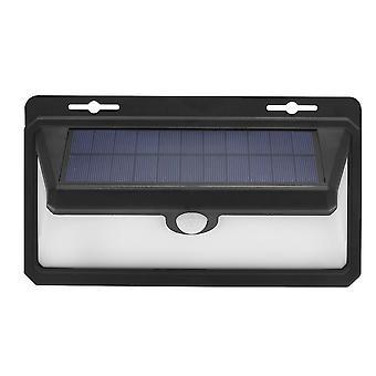 Waterproof solar powered pir motion sensor wall lights