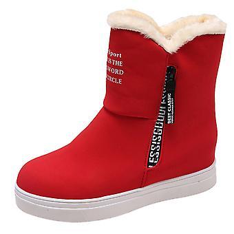 Warm Fur Winter Platform Ankle Boots/shoes