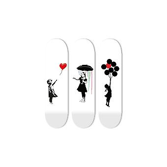 Bundle: Liebe & unter dem Regenbogen & Hoffnung Skateboard