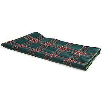 checkered MacBain 140 x 160 cm textile green