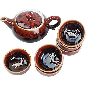 Tea Set Ceramic Teapot with Strainer