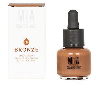 Mia Cosmetics Paris Färgdroppar #bronze 15 ml för kvinnor