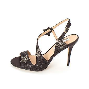 INC International Concepts Womens Renita Fabric Open Toe Special Occasion Slingback Sandals