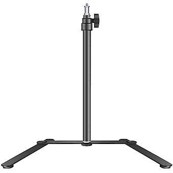 HanFei Neeewer Tisch Lichtstativbasis für LED-Feld und Ringlicht, 15,4-27 Zoll Einstellbare
