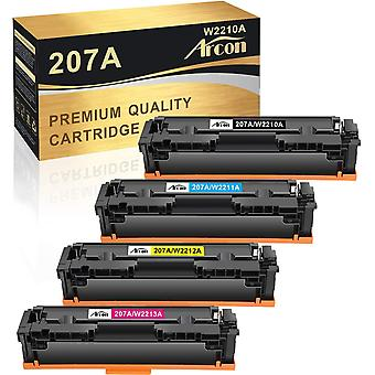 FengChun Kompatibel 207A Tonerkartusche Ersatz fr HP 207A 207X W2210A W2210X fr HP Farbe