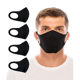Tissu lavable face mince à couper le souffle couche unique couvre pack économique de 4