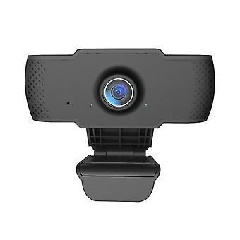 Full HD 1080P Webcam USB Mini -tietokonekamera Sisäänrakennettu mikrofoni joustava käännettävä työpöydälle