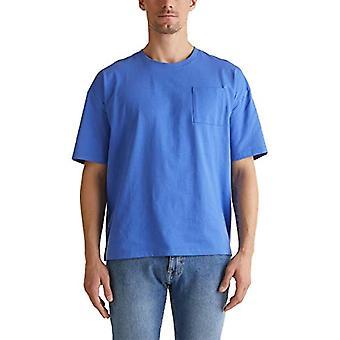 edc av Esprit 020cc2k315 T-Shirt, 410/Bright Blue, M Herr