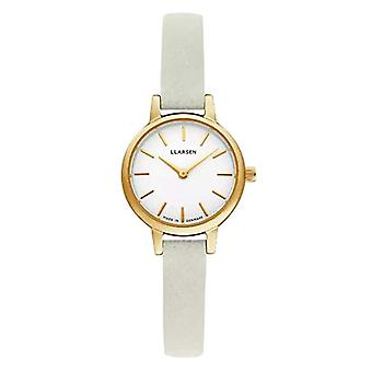 LLARSEN Analogueic Watch Quartz Woman with Leather Strap 145GWG3-GMINT8