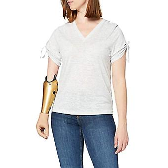 French Connection 76QAQ T-Shirt, Dove Grey Mel, X-Large Vrouw
