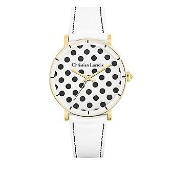 Christian Lacroix Analog Watch Quartz Woman with Leather Strap CLWE41