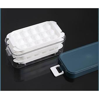 Ice boxed set Magnum Plastic Mold Easy Release Ice Cube DIY Ice Cube Maker(26.8*11*12cm,Blue)