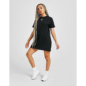 New Pink Soda Sport Vivid Tape T-Shirt Dress from JD Outlet Black