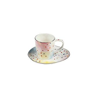 Cup With Plate Colors