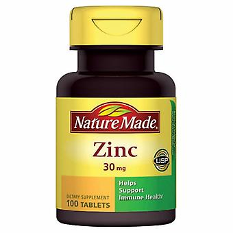 Nature Made Zinc, 30mg, 100 Tabs