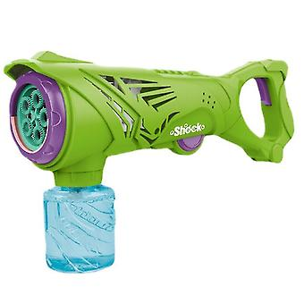 Summer outdoor Electric Bubble Machine gun(Green)