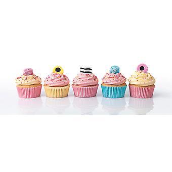 Clementoni Licquorice Cupcakes Panorama högkvalitativt pussel (1000 stycken)