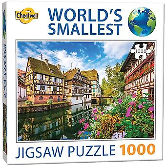 World's Smallest Jigsaw Puzzle - Strasbourg (1000 Pieces)