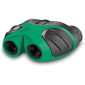Jumelles pour enfants, jumelles étanches compactes teen boy cadeaux d'anniversaire jouets garçon 3-12 ans ,(vert)