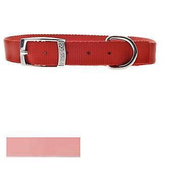 Ferribiella Nylon Fuss-Dog Vaaleanpunainen kaulus (koirat, kaulukset, liidit ja valjaat, kaulukset)