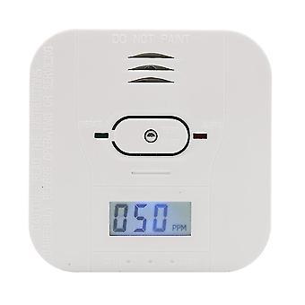 3 в 1 Окись углерода / температура / дым Дектор с ЖК-экраном