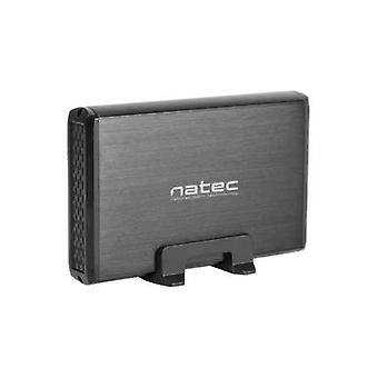 "Hard drive case Natec RHINO 3,5"" USB 3.2 Gen 1 5 Gbps Black"
