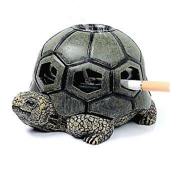 منافض السجائر 1pcs الكرتون السلحفاة الحيوان منفضة السجائر الإبداعية السلحفاة الحلزون منفضة السجائر الحرف