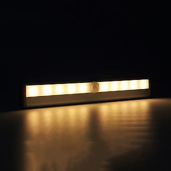 10 led kirkas pir liiketunnistin valokaappi vaatekaappi lamppu lamppu