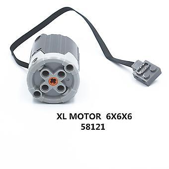 1kpl tehotoiminnot Xl Moottori 6x6x6 Yhteensopiva Lego For Boys Lasten Lelut (58121)