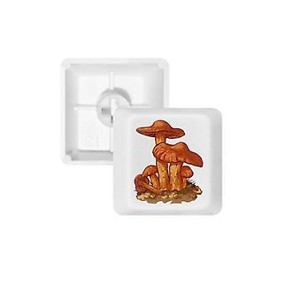 Orange Mushroom  Keycap Keyboard
