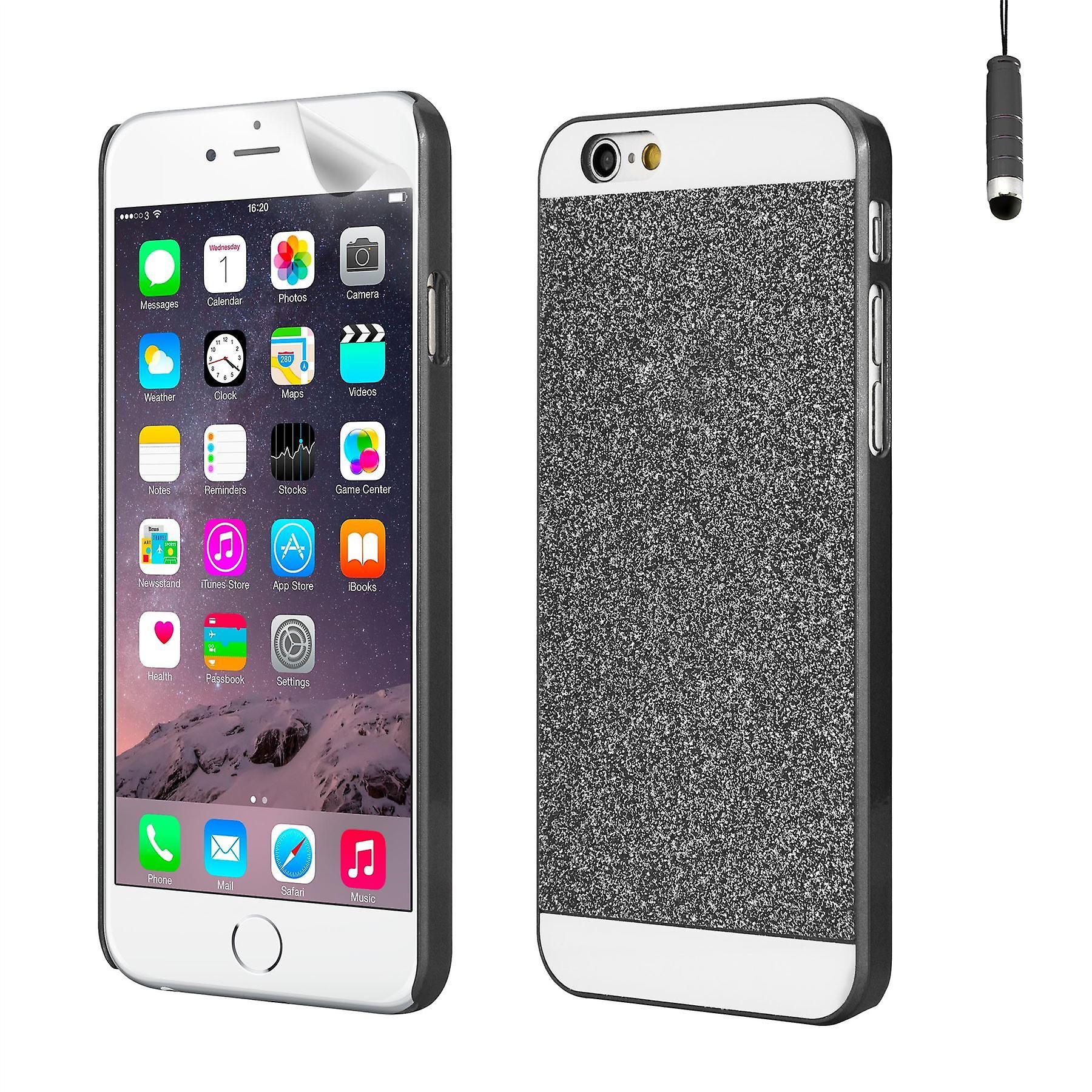 Glitter design case for Apple iPhone 6 6S - Black