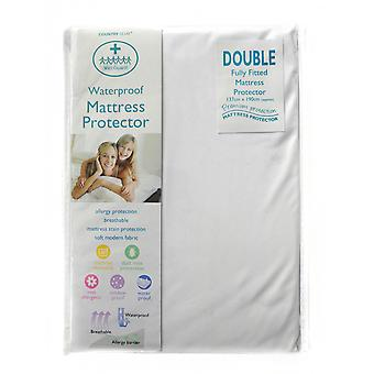 Wet Guard Waterproof Mattress Protector, Double