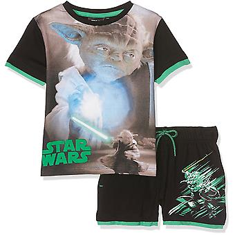 Jongens Star Wars Short Sleeve T-Shirt & Shorts Set