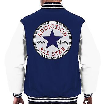 Trainspotting T2-függőség Converse logo férfiak ' s Varsity Jacket