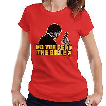 De herder Jules Winnfield Pulp Fiction Women's T-Shirt