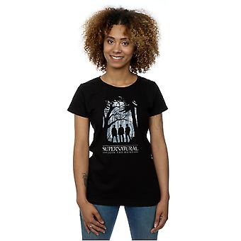 Supernatural Women's Group Outline T-Shirt