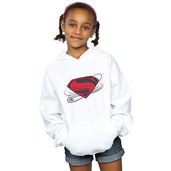 DC Comics Girls Justice League Movie Superman Logo Hoodie