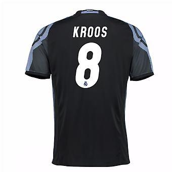 2016-17 real Madrid 3e chemise (Kroos 8) - Kids