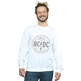 AC/DC Men's Rock N Roll Damnation Black Sweatshirt