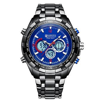 Barkers of Kensington Mega Sport Mens Steel Sports Watch