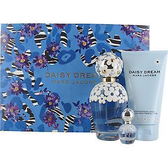 Marc Jacobs Daisy Dream 100ml Eau de Toilette, 150ml Body Lotion and 4ml Eau de Toilette Gift Set for Women