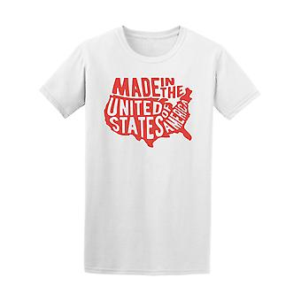 Made In United States Of America Tee Men's -Image by Shutterstock
