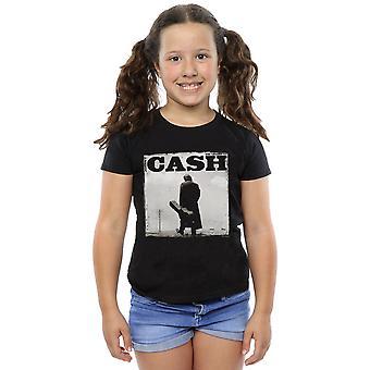Johnny Cash tyttöjen kävely legenda t-paita