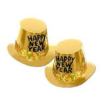 Goudkoorts Nieuwjaar cilinderhoed - 10