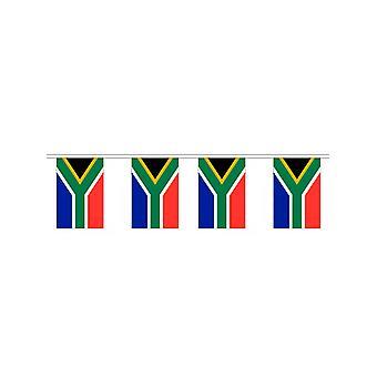 Vlag van Zuid-Afrika Bunting rechthoekige vlaggen