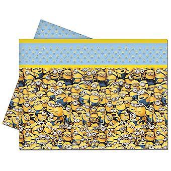 Tischdecke Tablecloth Tischtuch Minions Kinderparty Geburtstag 120x180cm