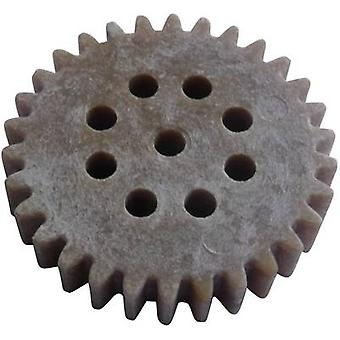 Reely trä, plast kugghjul modultyp: 1.0 No. tänder: 30 1 dator